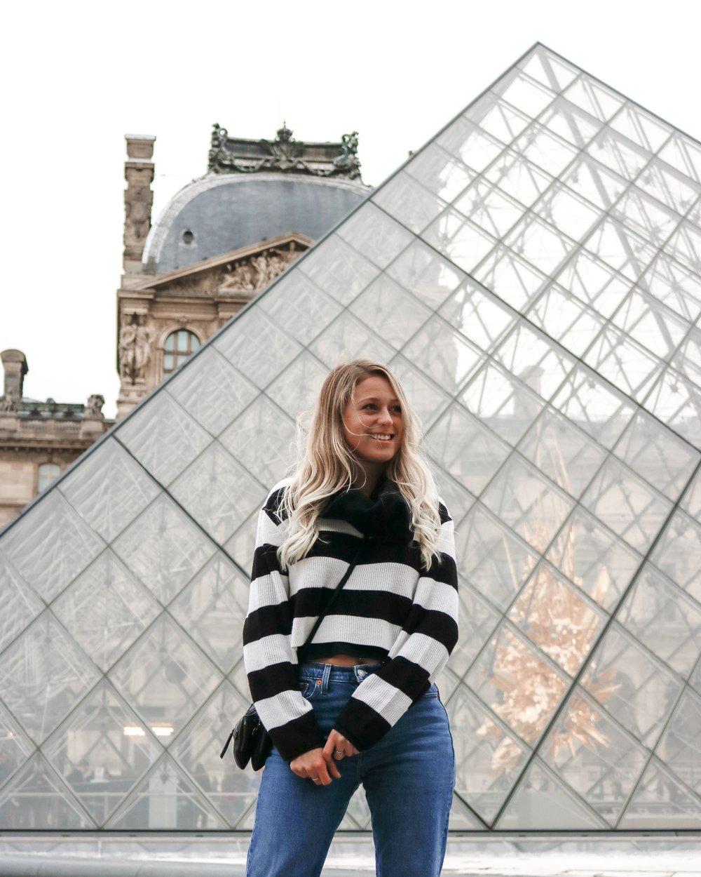 Kessler Ramirez – the Louvre in Paris, France