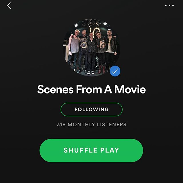 Are you rehearsing for the shows as much as we are?? Hit the @spotify page and get familiar! We're gonna bring it. Bring it right back. #scenes10 #reunionshows #bringiton #bringitonagain