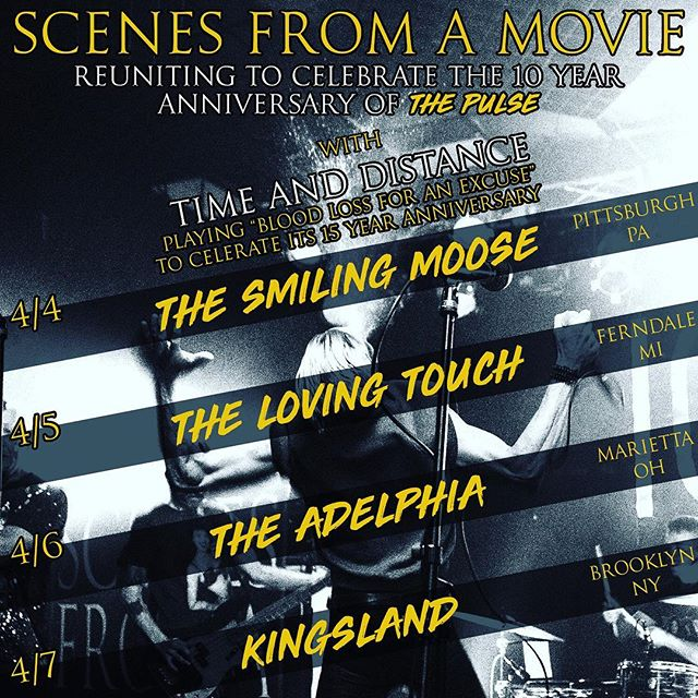ITS GO TIME! Buy tickets from our website in the bio! #scenes10 #tour #gigsgigsgigs