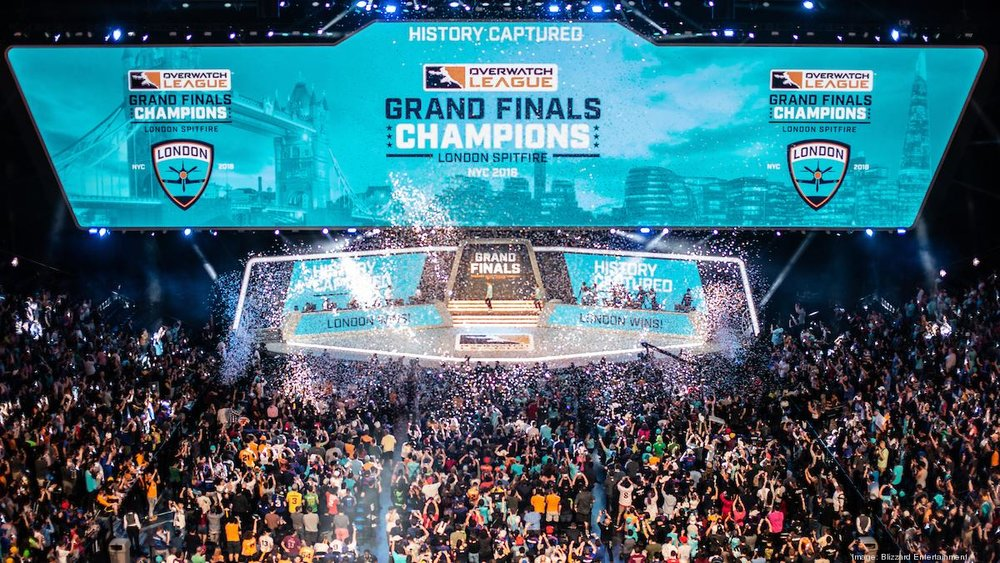 The Overwatch League Season One Grand Finals at Madison Square Garden
