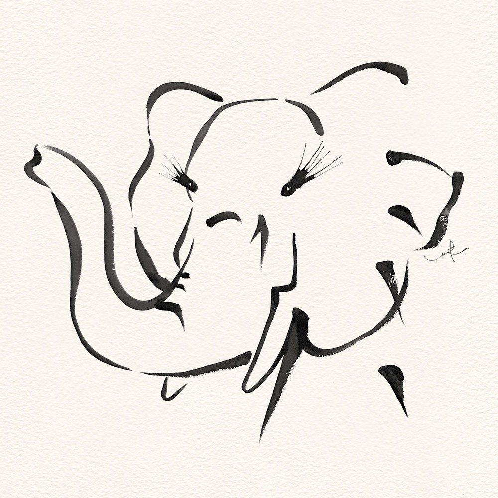 ELEPHANT. - Feel free to get in touch if you're interested in a particular piece.
