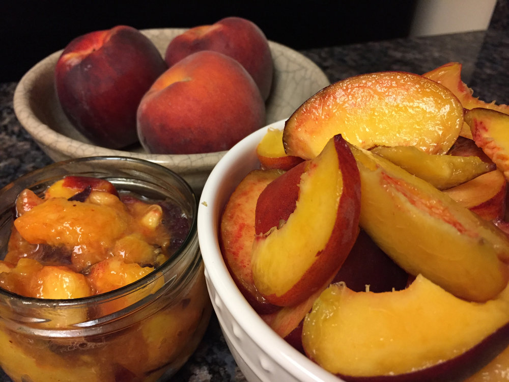 Peaches for days!