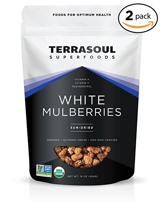 White Dried Mulberries