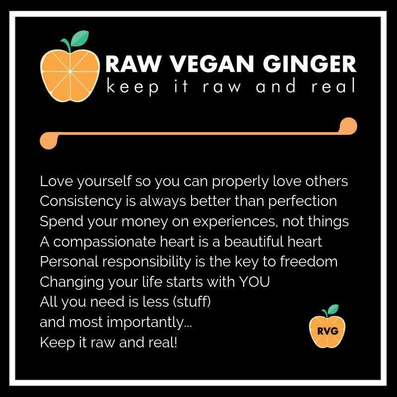 Raw Vegan Ginger