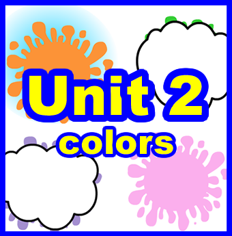 Unit 2: Colors    The theme of HEE unit 2 is colors.  Moving on from unit 1, we enter the wonderful rainbow world of colors! Colors are all around us and just like animals, students have strong opinions about colors.