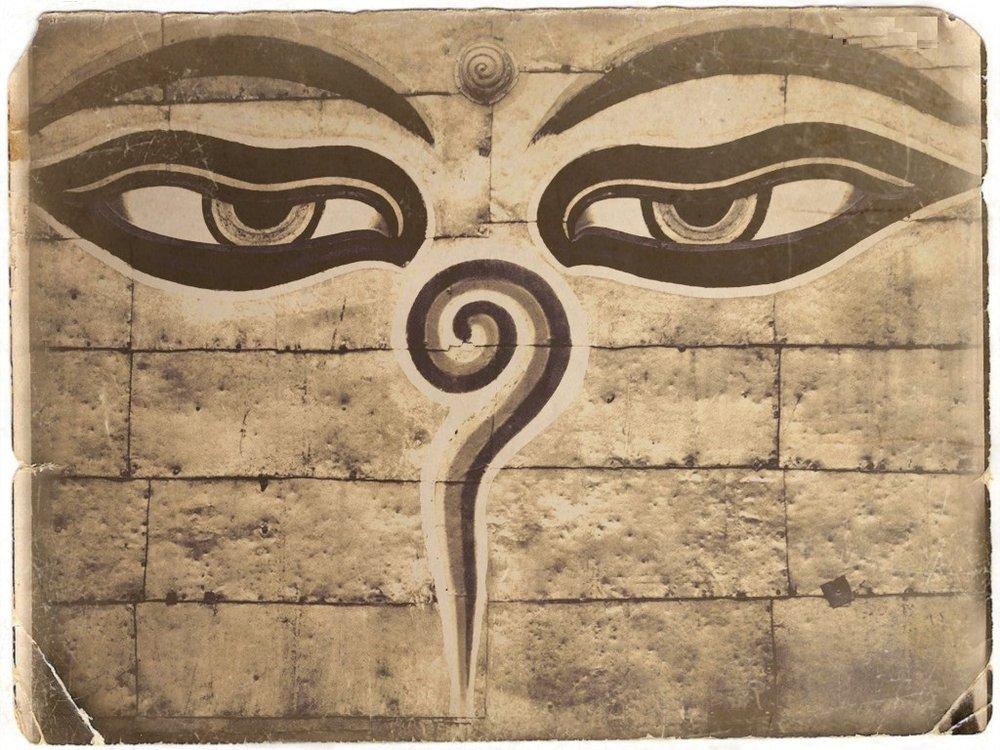eyes of buddha old