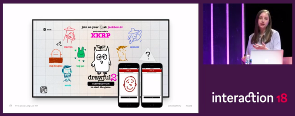 Molly Lafferty presents Drawful2 at IxDA Interaction 18