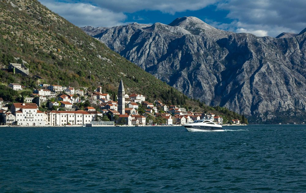 BAY OF KOTOR IN WINTER
