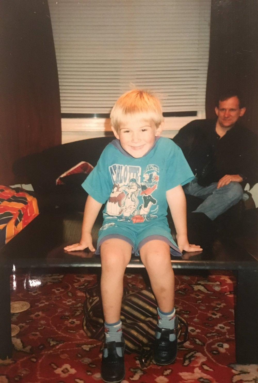 Blonde baby Dan.