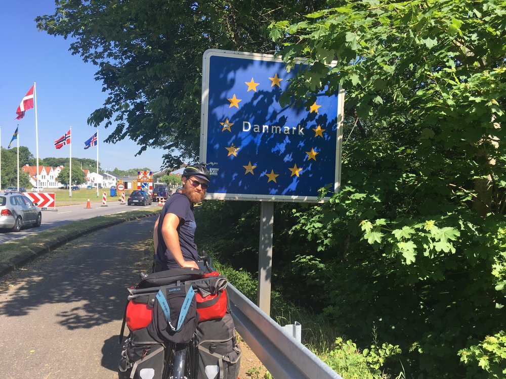 Surprisingly, not all European countries have border crossings like this. Often, you don't even realise you've crossed the border.