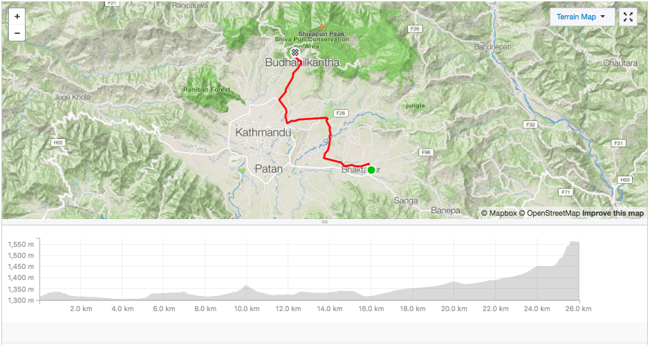 Up to Steve's, our GPS reckoned we hit 46% gradient. Two were pushing one bike by that point.