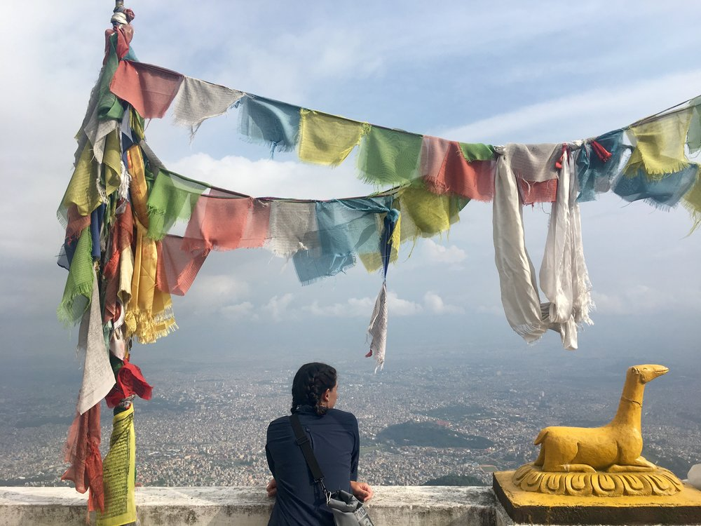 The view of Kathmandu Valley from Jamacho monastery was incredible.