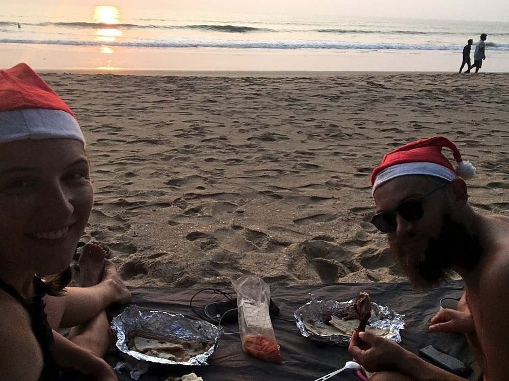 Merry Christmas (beach: Galgibag).