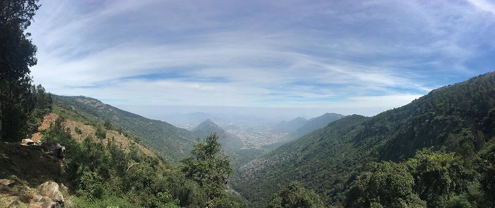 View from Cauvery Peak.