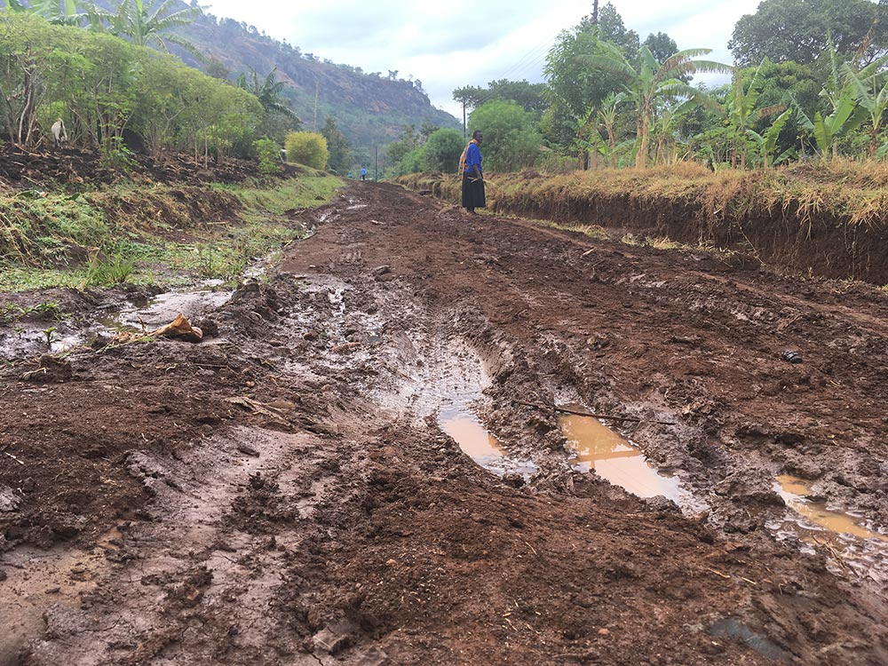 Rainy season in East Africa is expected to start in March/April. We better get used to this.