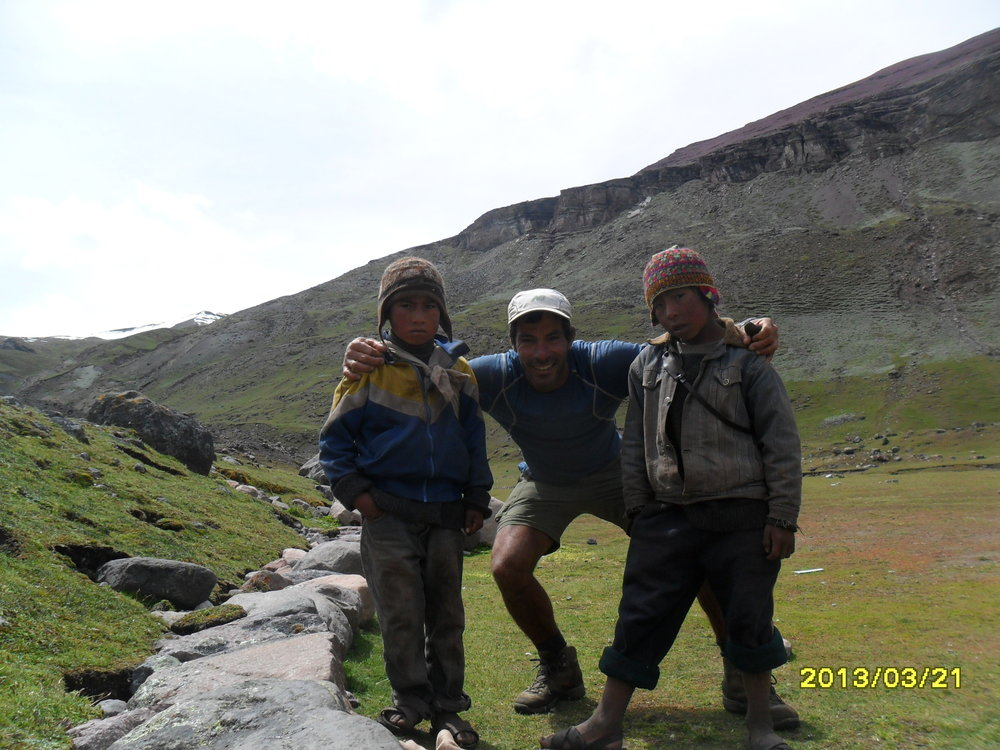 My inspiring people from the andean's mountains. people had nothing material (but at lot spiritual) gave me everything!
