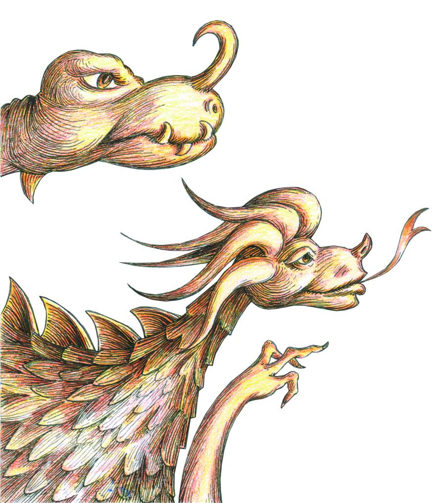 Feld-Wald- und Wiesendrachen - fällt der Regen auf die Heckenfindet man die besten Schneckenwer stampft so schwer durch Wald und Feld?das ist bestimmt ein Drachenheld!so wie man in den Wald ruftkommt gleich ein Drache geflogendas Drachenfamilienfest ist dann, wenn man vor lauter Drachen den Wald nicht mehr siehtFeld-Wald- und Wiesendrachenschimpfwörter:- Morscher Weichschwänzler- Faulstinkfurzer- Hühnerbeiniges Schmalspurmonster