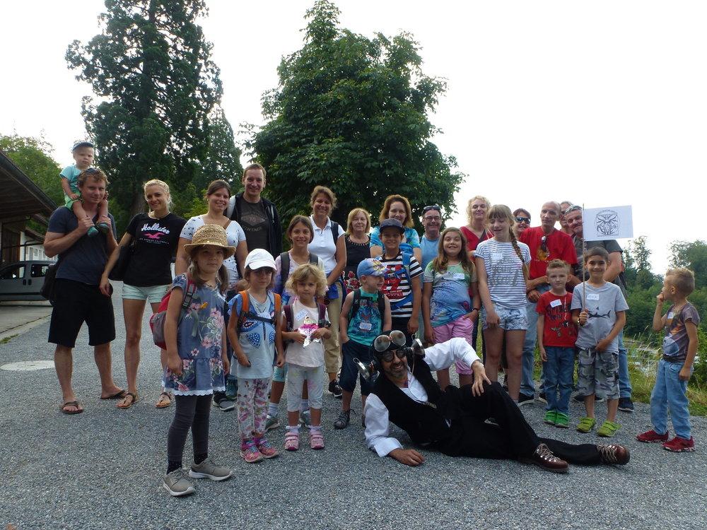 Was für eine tolle Drachenforschungsgruppe auf Schloss Heidegg!