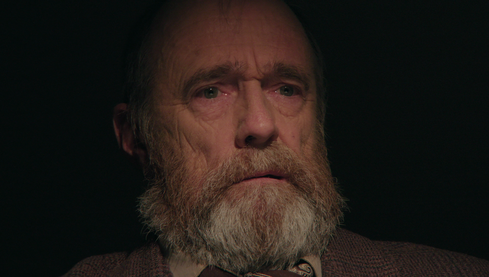 Det. Roxburgh's (Lawrie Hughes) face of death.