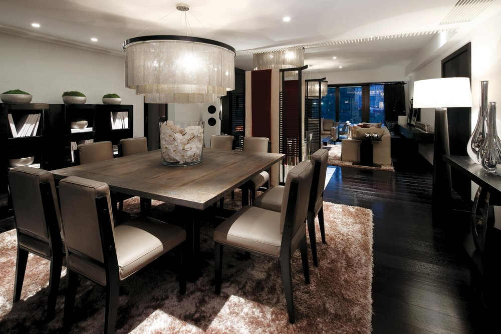 Kelly Hoppen Dining Space