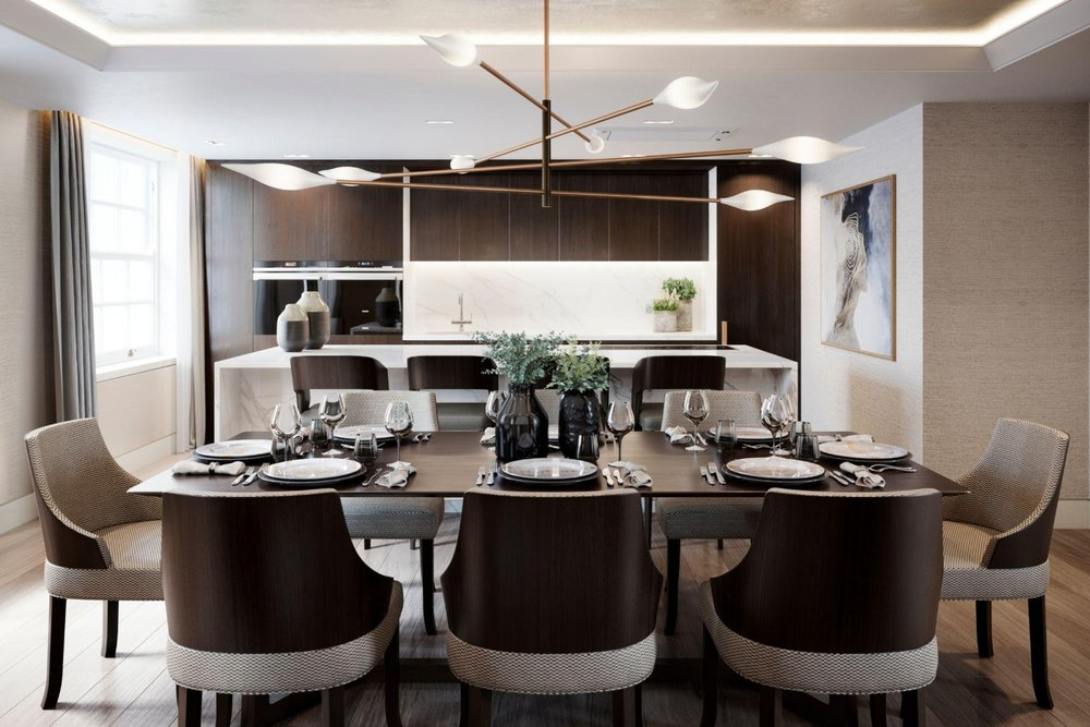 3 Contemporary Dining Room Designs Bethany Riley