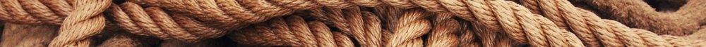 Brown rope.