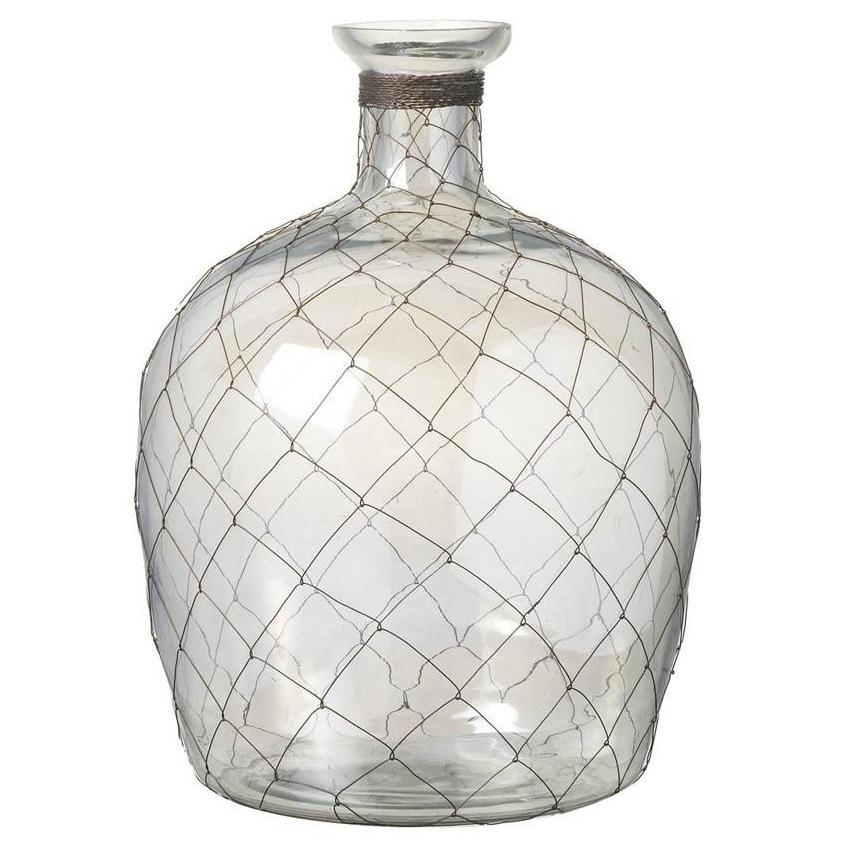 Copper Mesh Vase