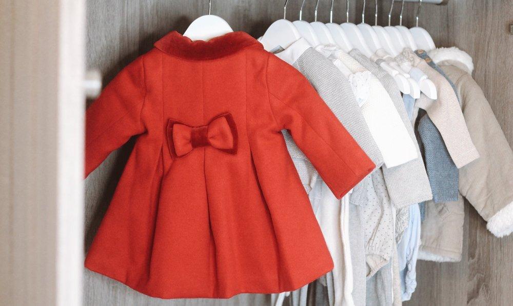 Red Woven Coat  (similar)