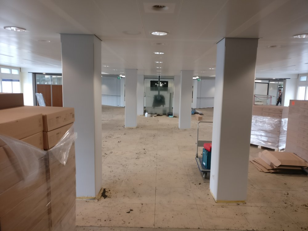 Activity Based Working  refurbishment at the ABN AMRO bank