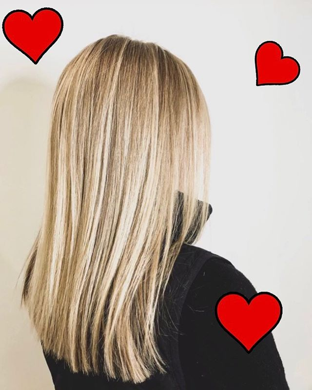 Happy February!! Make sure to call and make your appointments for some beautiful hair this Valentine's Day! Like this gorgeous cut and highlight done by Bekki! 301-854-9511 ❤️❤️