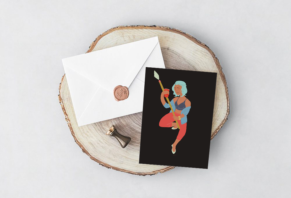 Freya Greeting Card - mythology Studio.jpg