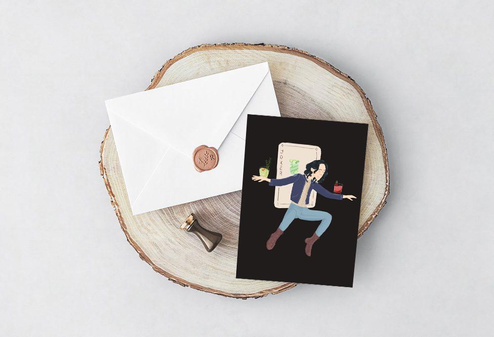 Loki Greeting Card - mythology Studio.jpg