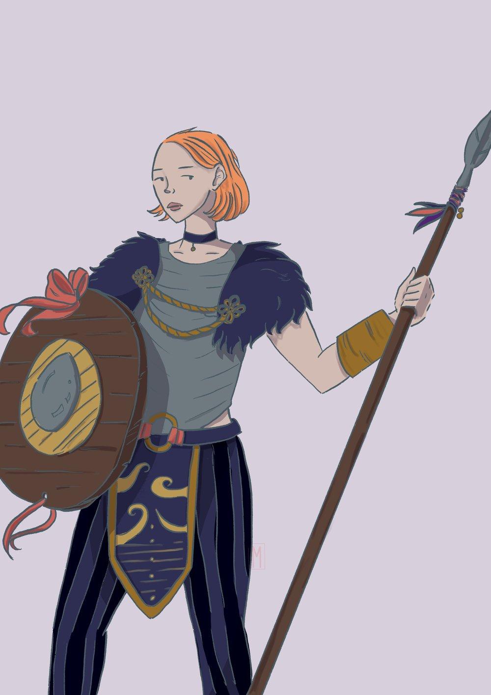 Spear Maiden. Valkyrie series. 2018.
