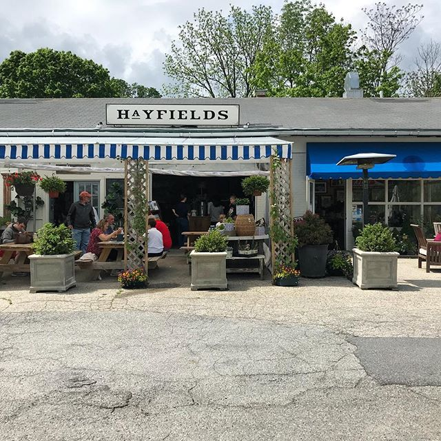 Amazing lunch spot in beautiful #northsalem @hayfieldsmarket #westchester #westchestereats