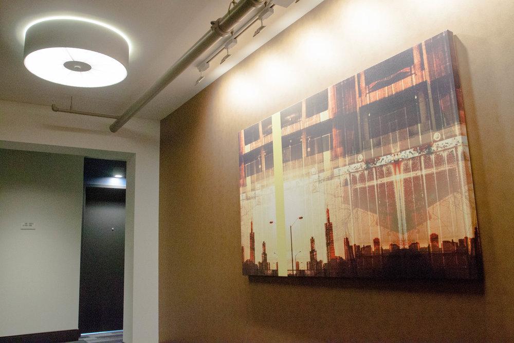 Residential Floor Artwork
