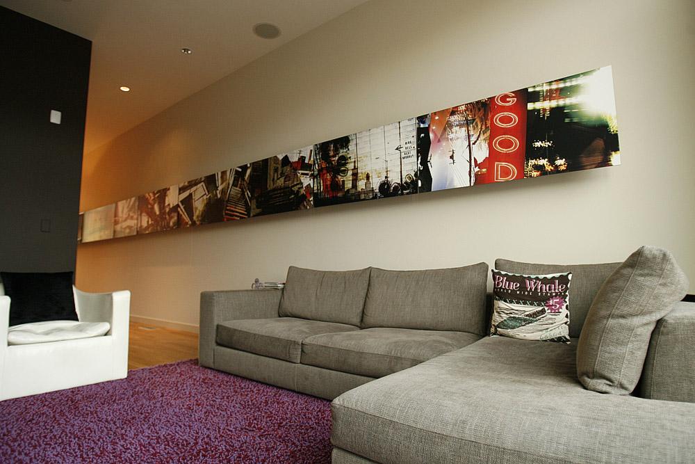 Custom Living Room Artwork