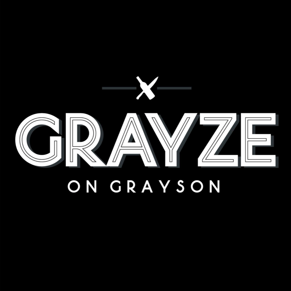Grayze , Lunch, Brunch, & Dinner  521 East Grayson Street, San Antonio, 78215  P 210-481-8776   Make a Reservation on OpenTable