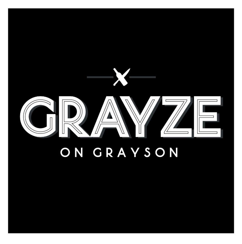 Grayze , Saturday and Sunday  521 East Grayson Street, San Antonio TX 78215 P 210-481-8776 W   Grayze's Lunch, Brunch, and Dinner Menu   ($15/$25 – Sunday Brunch/$35)   Menu:   Make A Reservation