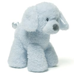 Fluffey Dog Rattle Blue Roxy Therapy Dogs