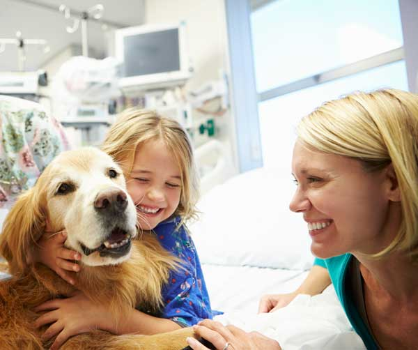 Benefits for Families of Children Undergoing Cancer Treatment - According toAmerican Humane