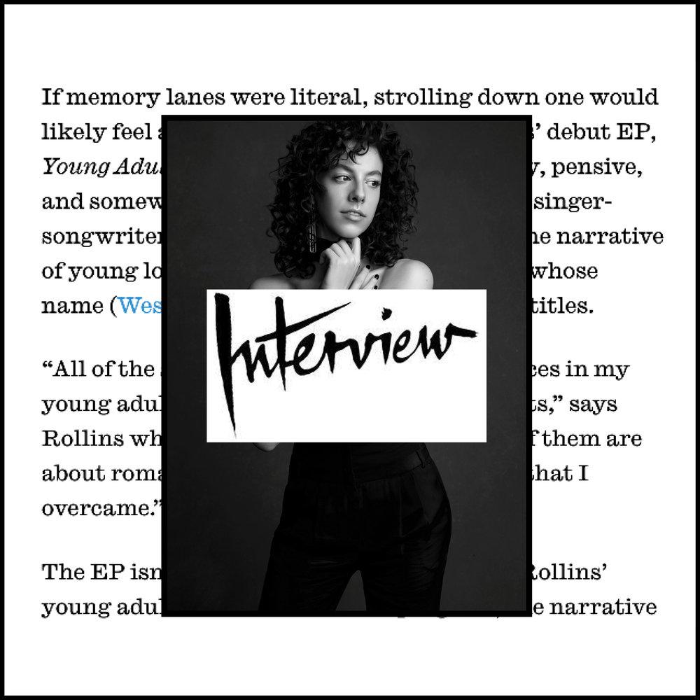 Link -  Interview Magazine