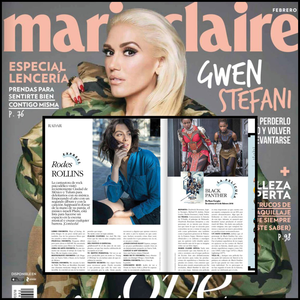 February Print Issue - Marie Claire