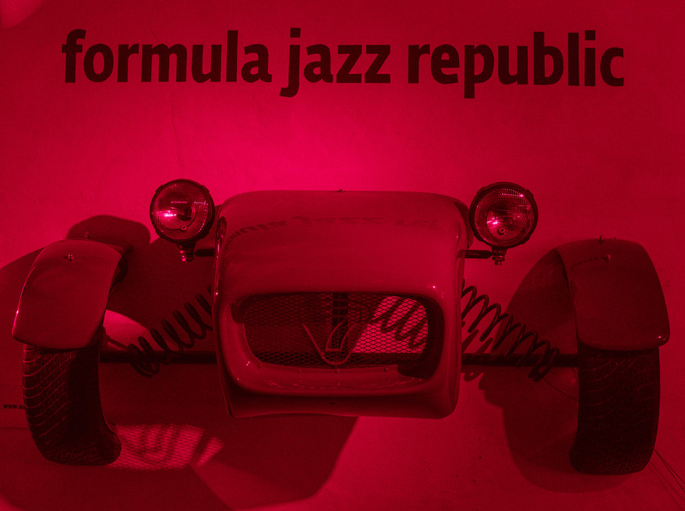 Jazz clubs everywhere. I found 4--accidentally.