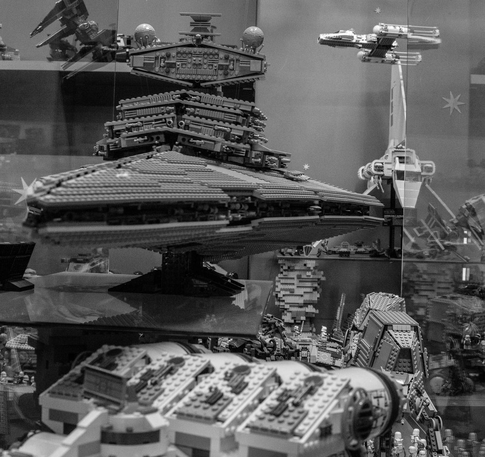 100% Lego construction