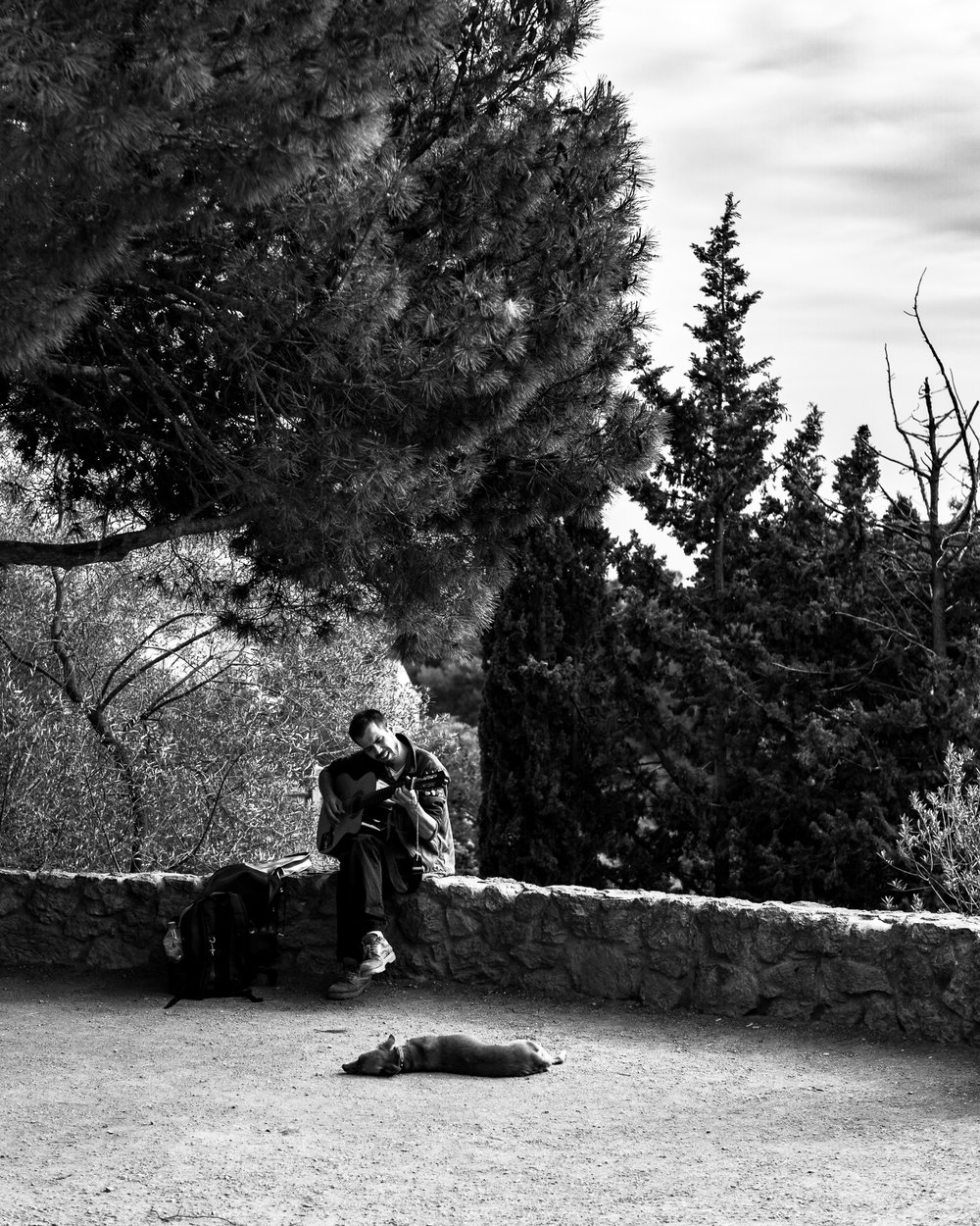 parc guell, barcelona, 2018