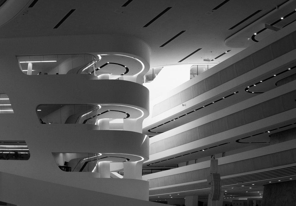 Zaha Hadid, University of Vienna Library, Austria