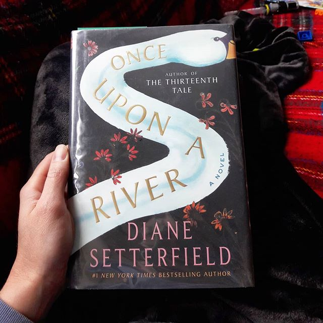 I'm three chapters in, and so far, this book is living up to the hype. Have you read it? . #onceuponariver #amreading #bookstagram #librarylist