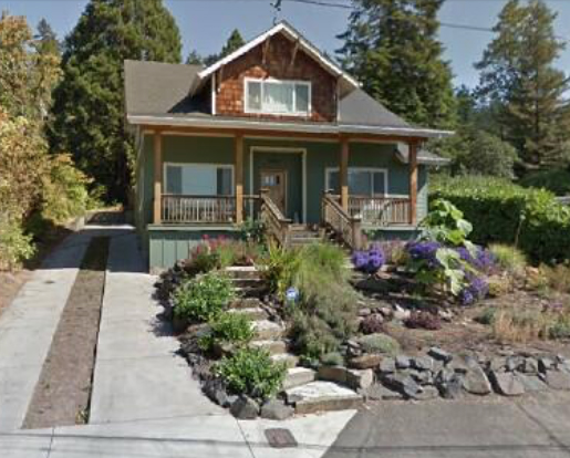 I built and sold this spec house in Eugene with Gena. I partitioned to create the building lot. Featured in 2008 in the Register Guard, Eugene, OR.