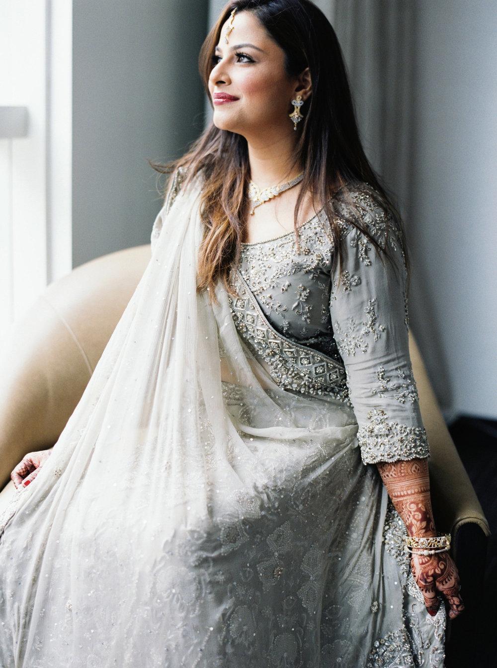 Muslim Bride | Colorful & Sweet Brooklyn Wedding | The Green Building