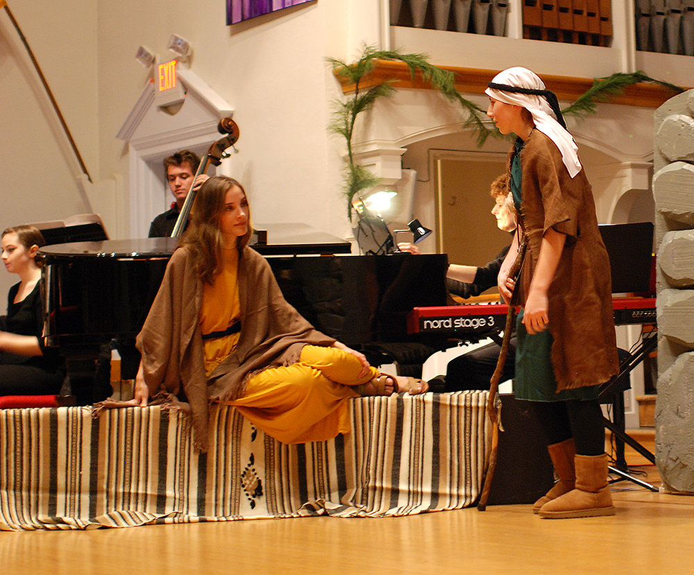 """The Mother in """"Amahl and the Night Visitors"""""""
